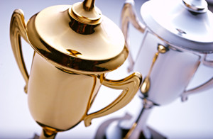 Gold And Silver Cups