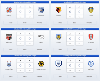 Super 6 Entry Screenshot