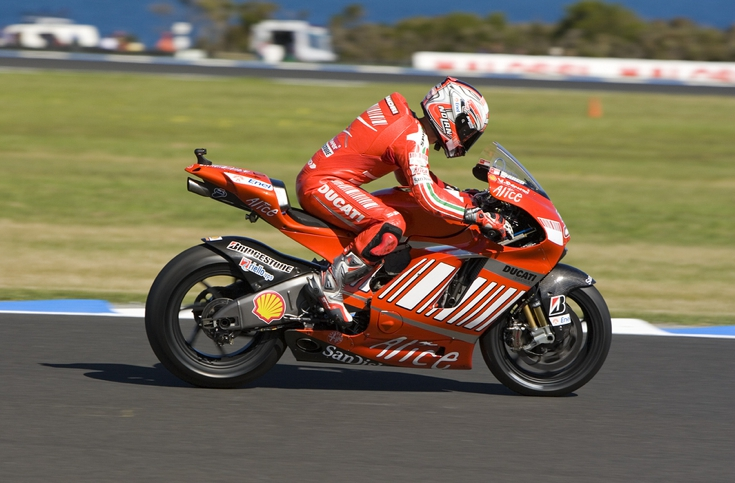 2008 MotoGP Race at Melbourne