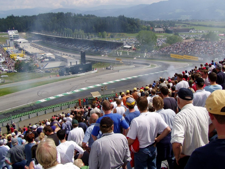 The Crowd at the Austrian Grand Prix