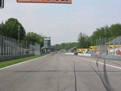The Start Line at Autodromo Nazionale Monza