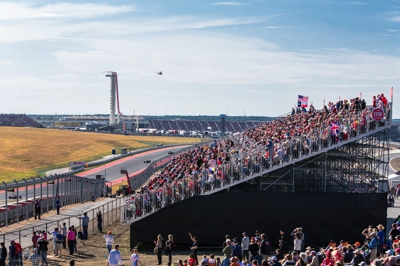 COTA on a Race Day