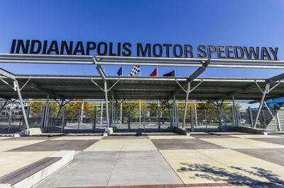 Indianapolis Motor Speedway Entrance