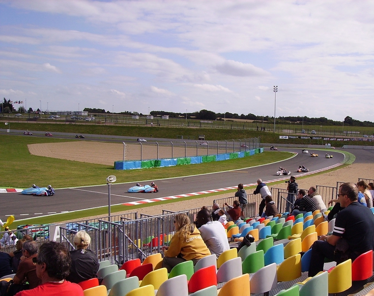 Racing Sidecars at Magny-Cours