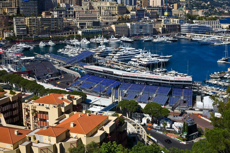 Monte Carlo During the 2016 F1