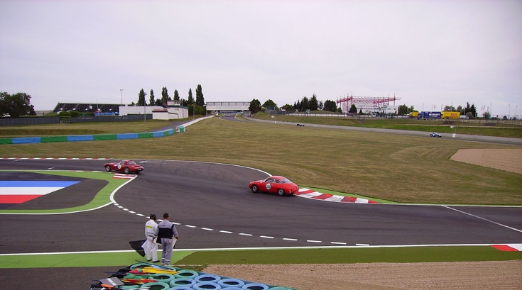 Views of the Magny-Cours Track