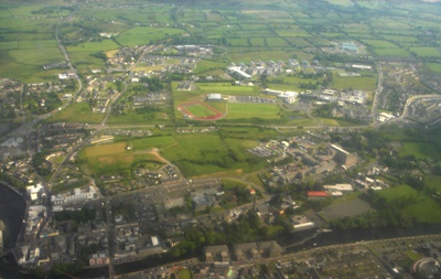 Aerial View of Sligo