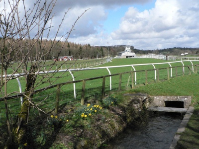 Cartmel Racecourse Track