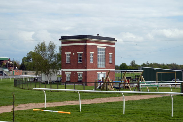 Buildings at Catterick Racecourse