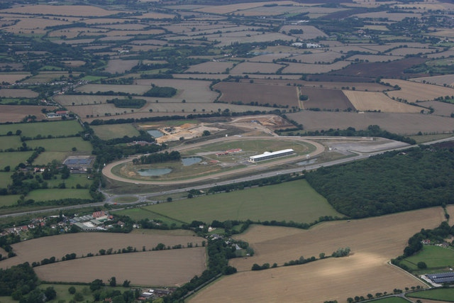Chelmsford Racecourse Aerial View