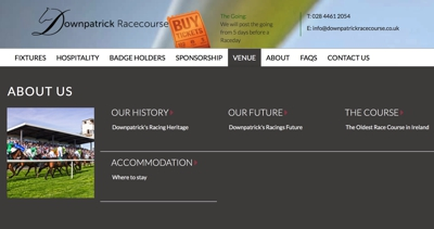 Downpatrick Stadium Homepage