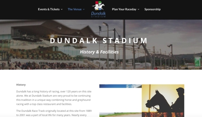 Dundalk Stadium Homepage