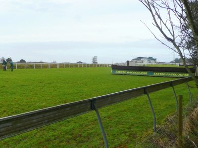 The Track at Exeter Racecourse