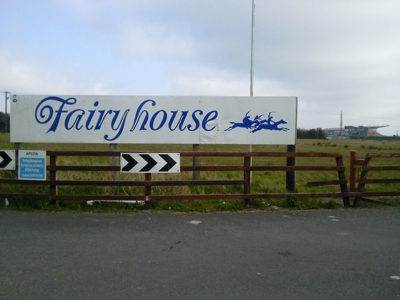 Fairyhouse Racecourse Sign