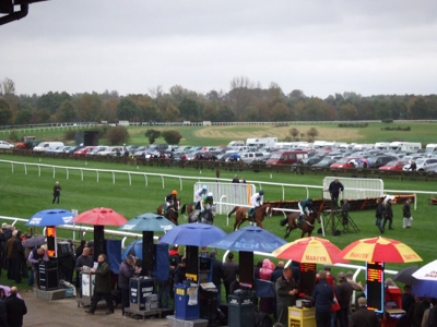 Starting Line at Fakenham
