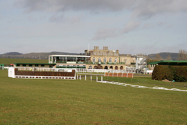Kelso Racecourse Grandstand