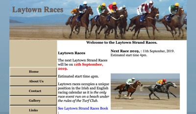 Laytown Racecourse Homepage
