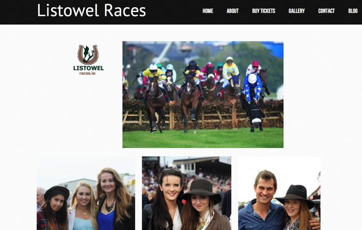 Visiting Listowel Racecourse