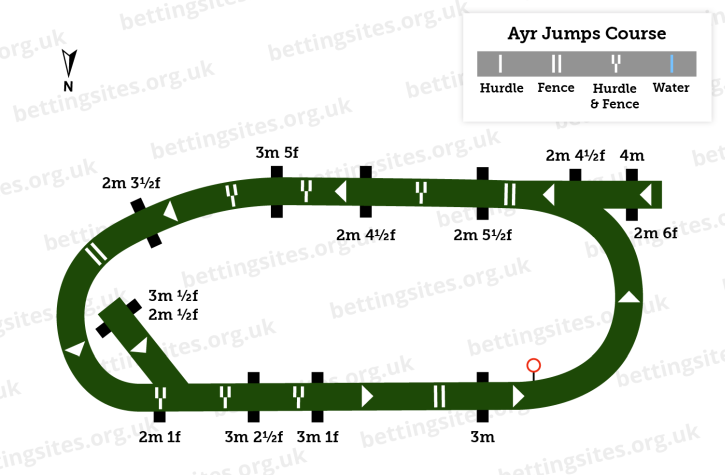 Ayr Jumps Course Diagram