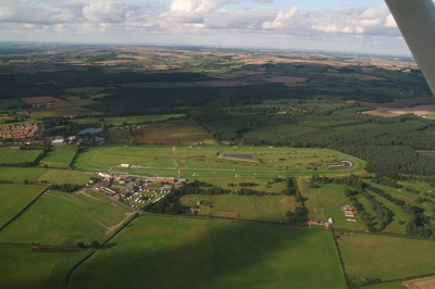 Aerial View of Market Rasen