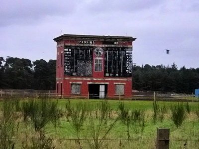 Lanark Racecourse No Longer in Use