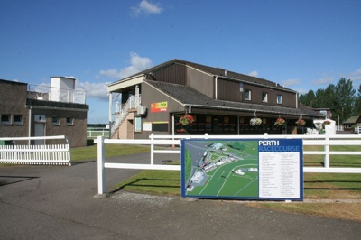 Entrance to Perth Racecourse