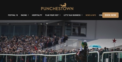 Punchestown Racecourse Homepage
