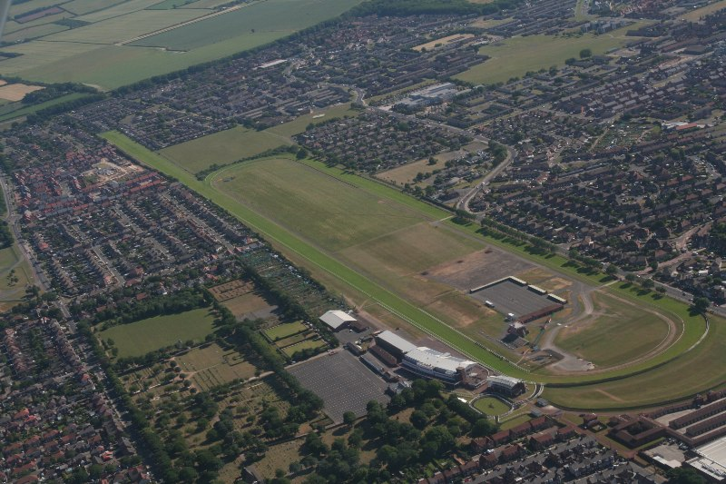 Redcar Racecourse from Above