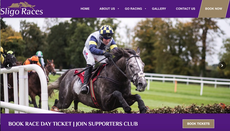 Sligo Racecourse Homepage