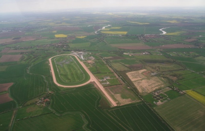 Aerial View of Southwell Racecourse