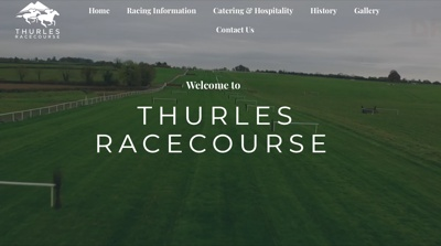 Thurles Racecourse Homepage