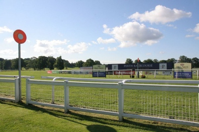 Winning Post at Perth Racecourse